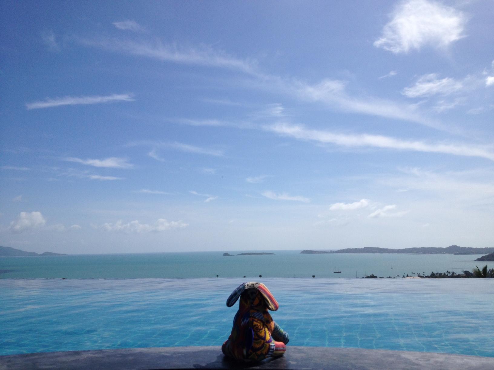 苏梅岛上的趣致无敌海景resort
