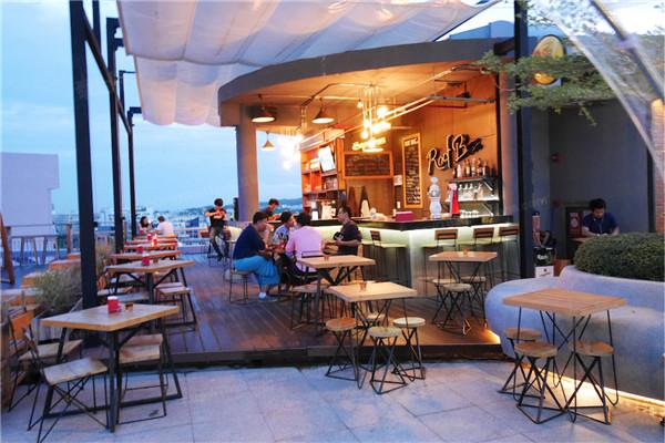 清迈都有天台酒吧餐厅 nimman hill